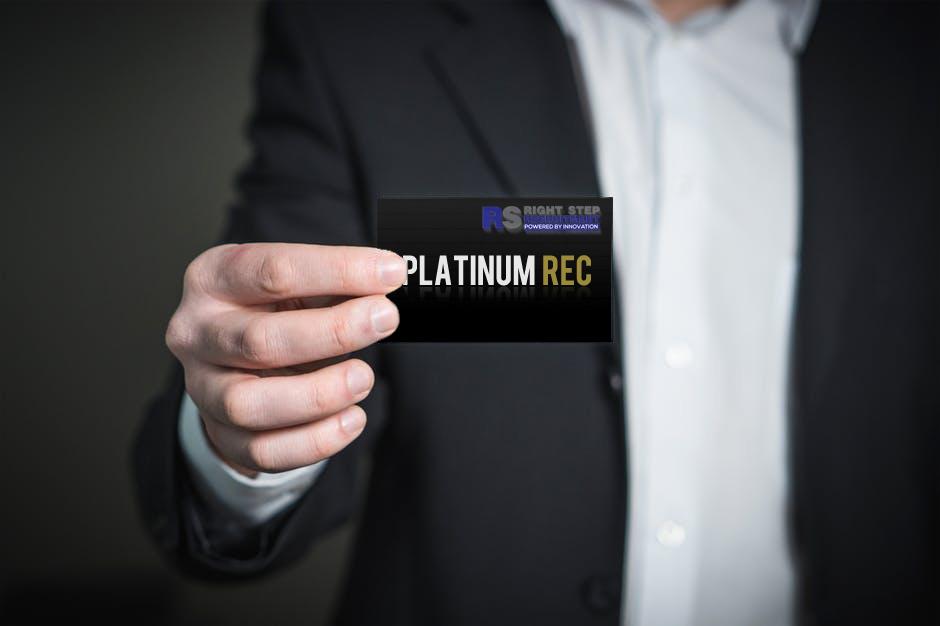 Platinum Rec Card